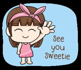 I love you, Sweetie (EN) sticker #9529361