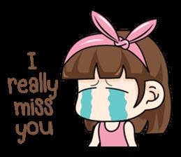 I love you, Sweetie (EN) sticker #9529364
