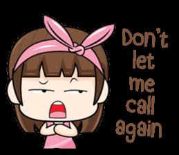 I love you, Sweetie (EN) sticker #9529381