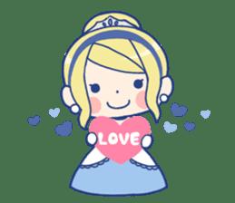 Cinderella Stickers sticker #9532007