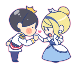 Cinderella Stickers sticker #9532009