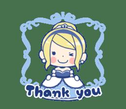 Cinderella Stickers sticker #9532011