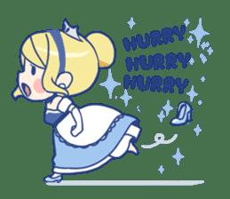 Cinderella Stickers sticker #9532015