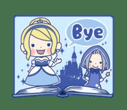 Cinderella Stickers sticker #9532023