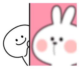 Spoiled Rabbit [Smile Person 2] sticker #9538637