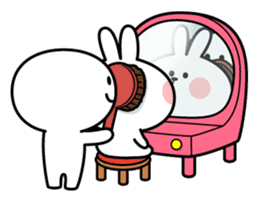 Spoiled Rabbit [Smile Person 2] sticker #9538649