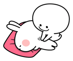 Spoiled Rabbit [Smile Person 2] sticker #9538650