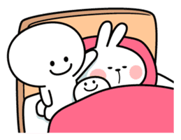Spoiled Rabbit [Smile Person 2] sticker #9538663