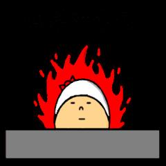 the sticker of kobayashi