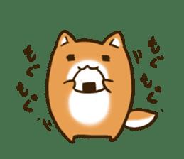 Cute Shiba Inu sticker sticker #9543308