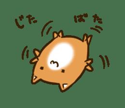 Cute Shiba Inu sticker sticker #9543310