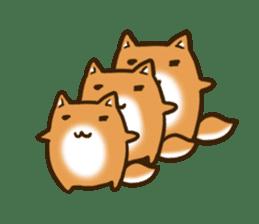 Cute Shiba Inu sticker sticker #9543334