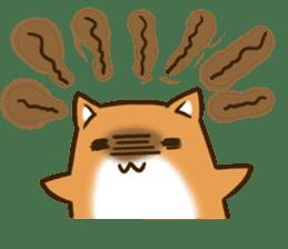 Cute Shiba Inu sticker sticker #9543338