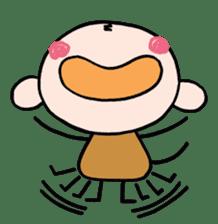 Saruta's Sticker by Chikako sticker #9544865