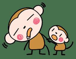Saruta's Sticker by Chikako sticker #9544873