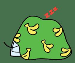 Saruta's Sticker by Chikako sticker #9544875