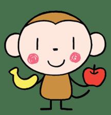 Saruta's Sticker by Chikako sticker #9544876