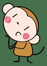 Saruta's Sticker by Chikako sticker #9544882