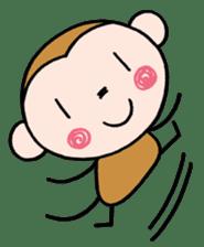 Saruta's Sticker by Chikako sticker #9544883