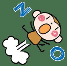 Saruta's Sticker by Chikako sticker #9544885