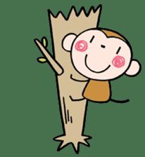 Saruta's Sticker by Chikako sticker #9544888