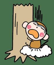 Saruta's Sticker by Chikako sticker #9544889