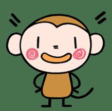 Saruta's Sticker by Chikako sticker #9544890