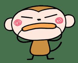 Saruta's Sticker by Chikako sticker #9544892