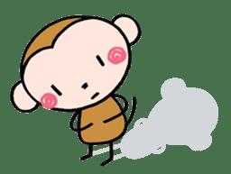 Saruta's Sticker by Chikako sticker #9544894
