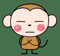 Saruta's Sticker by Chikako sticker #9544895