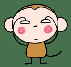 Saruta's Sticker by Chikako sticker #9544896