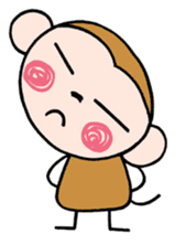 Saruta's Sticker by Chikako sticker #9544897