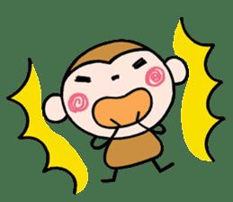Saruta's Sticker by Chikako sticker #9544901