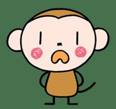 Saruta's Sticker by Chikako sticker #9544902