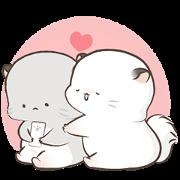 สติ๊กเกอร์ไลน์ Super Soft Simao & Bamao