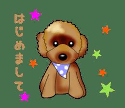 PON.de.Pomeranian3 sticker #9549940
