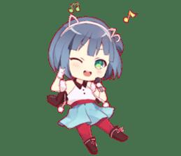 Yami & Friends Chibi sticker #9562424