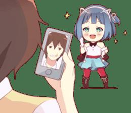 Yami & Friends Chibi sticker #9562455