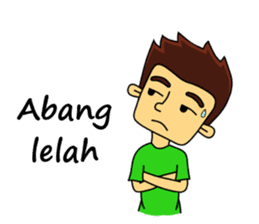 Si Togar Anak Medan sticker #9570944