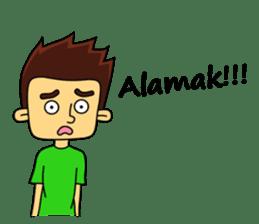 Si Togar Anak Medan sticker #9570945