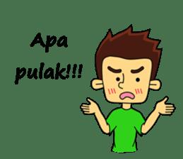 Si Togar Anak Medan sticker #9570948