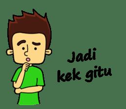 Si Togar Anak Medan sticker #9570959