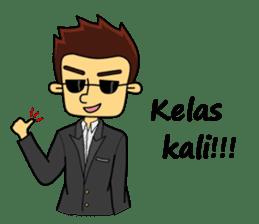 Si Togar Anak Medan sticker #9570961