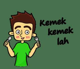 Si Togar Anak Medan sticker #9570962