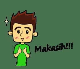 Si Togar Anak Medan sticker #9570964