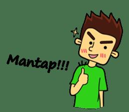 Si Togar Anak Medan sticker #9570965