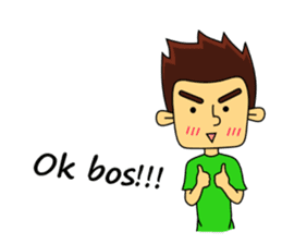 Si Togar Anak Medan sticker #9570968