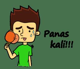 Si Togar Anak Medan sticker #9570970