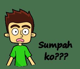 Si Togar Anak Medan sticker #9570977