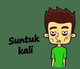 Si Togar Anak Medan sticker #9570978